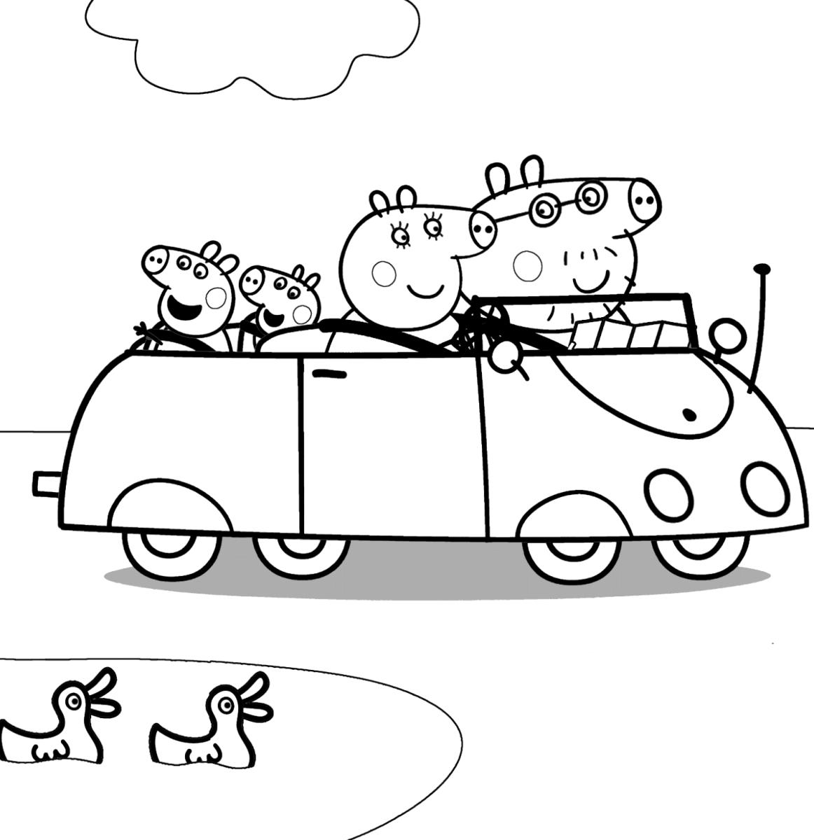 Свинка Пеппа Семья В Машине | Папины Сказки - скачать ...