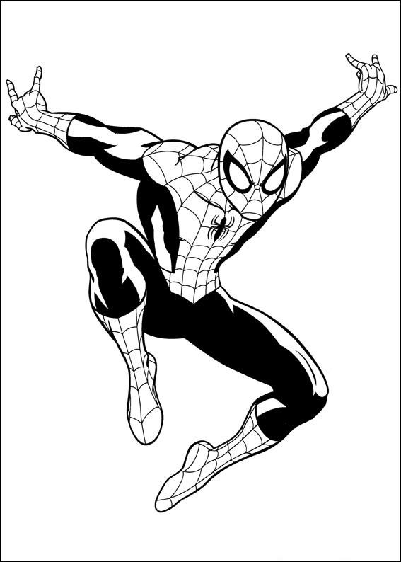совершенный человек паук папины сказки скачать раскраски