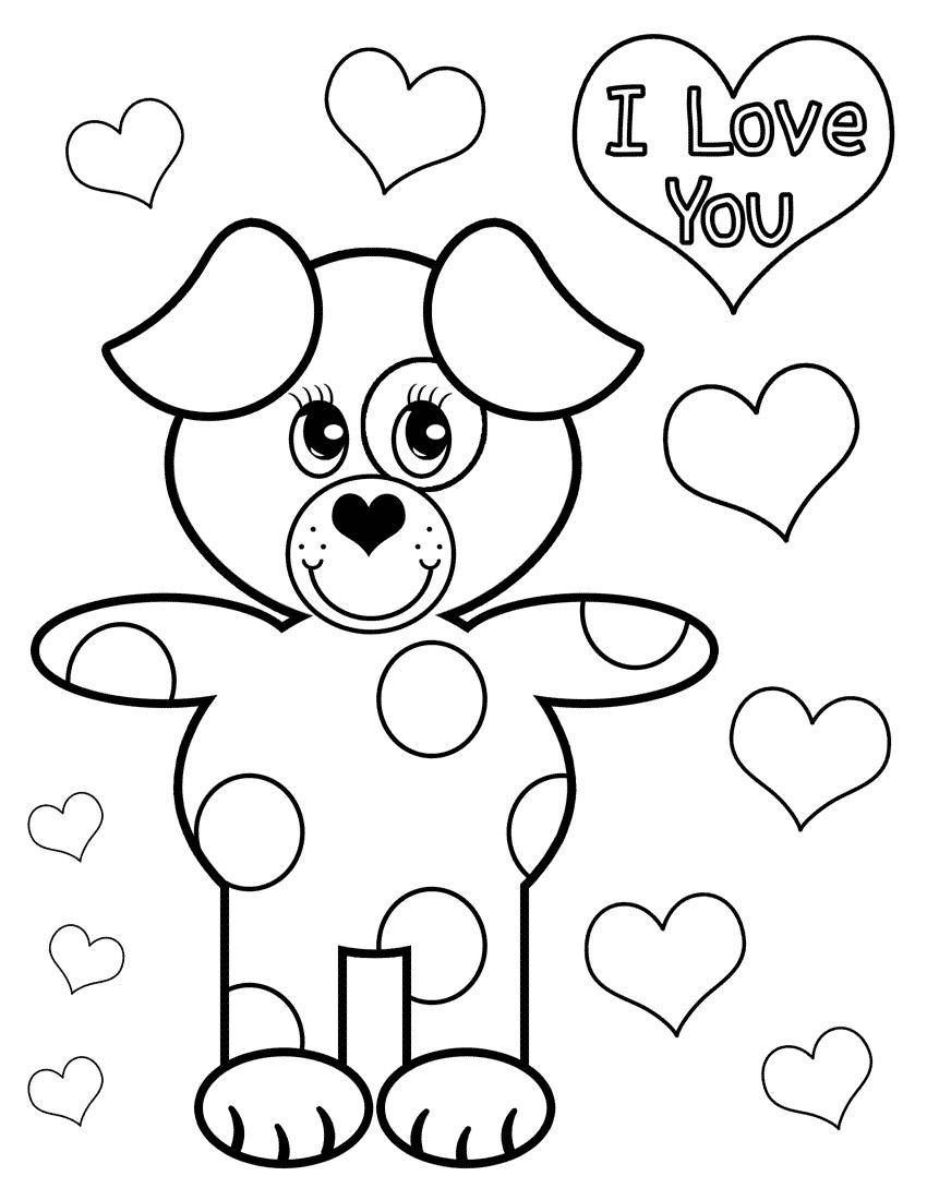Собака Признается В Любви | Папины Сказки - скачать раскраски